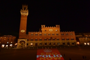 Polio Day 2018 in Piazza del Campo